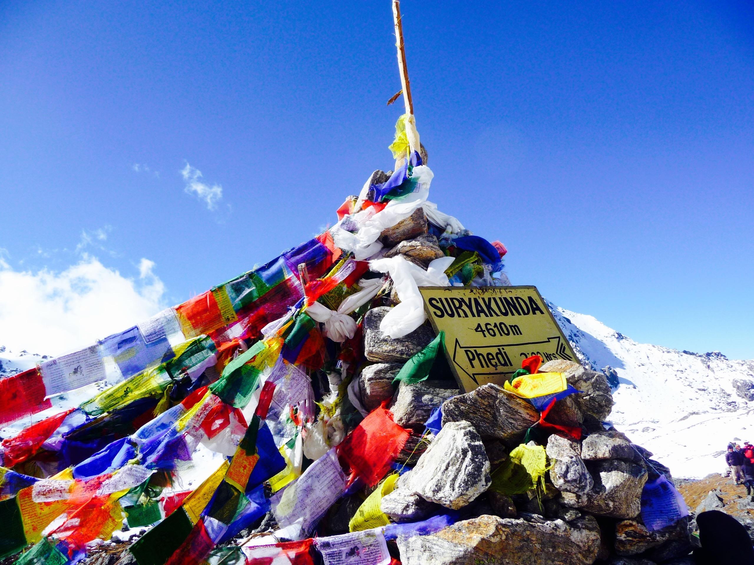 trek dans la vallée du Langtang au Népal