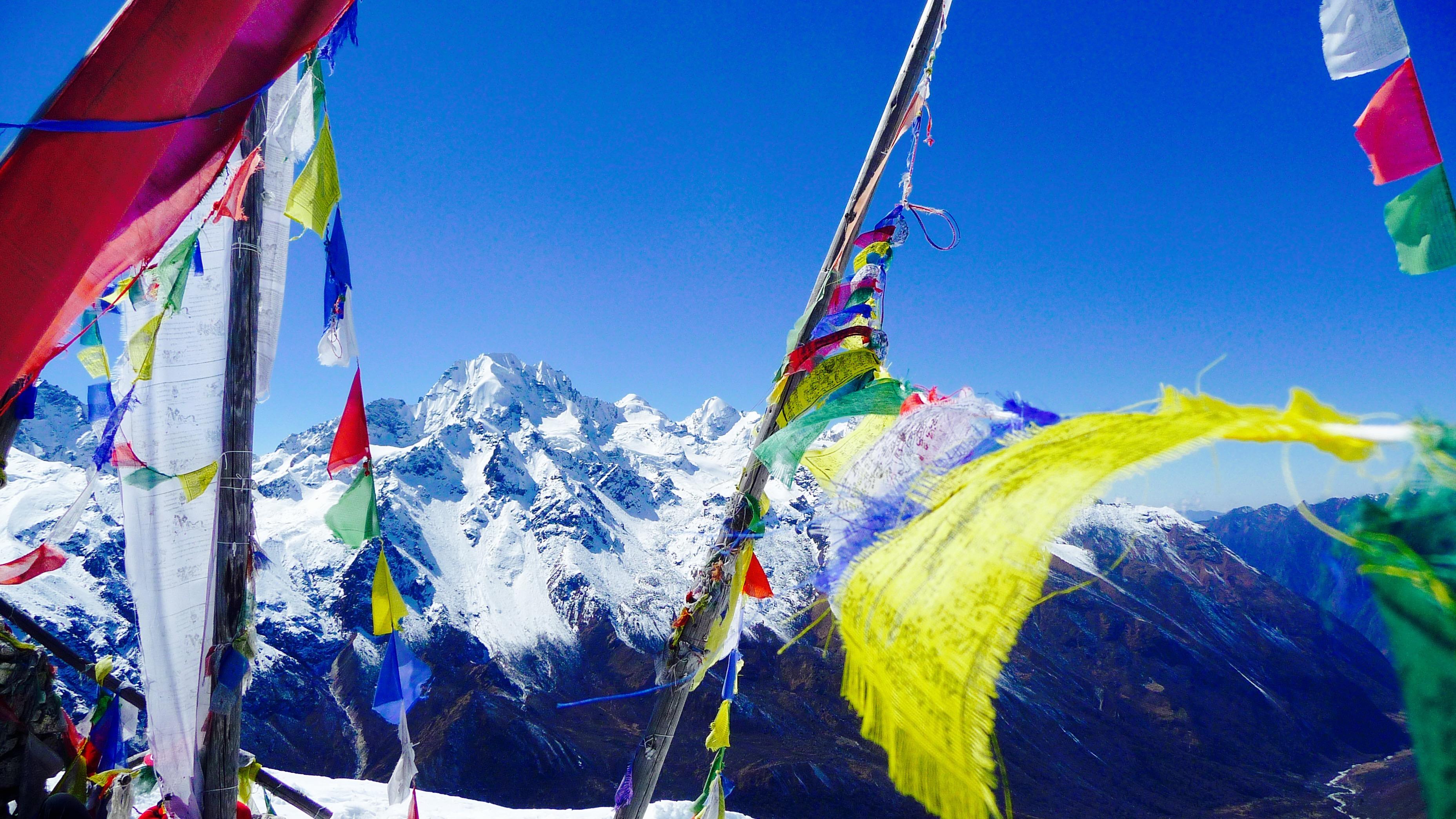 trek dans la vallée de Langtang au Népal