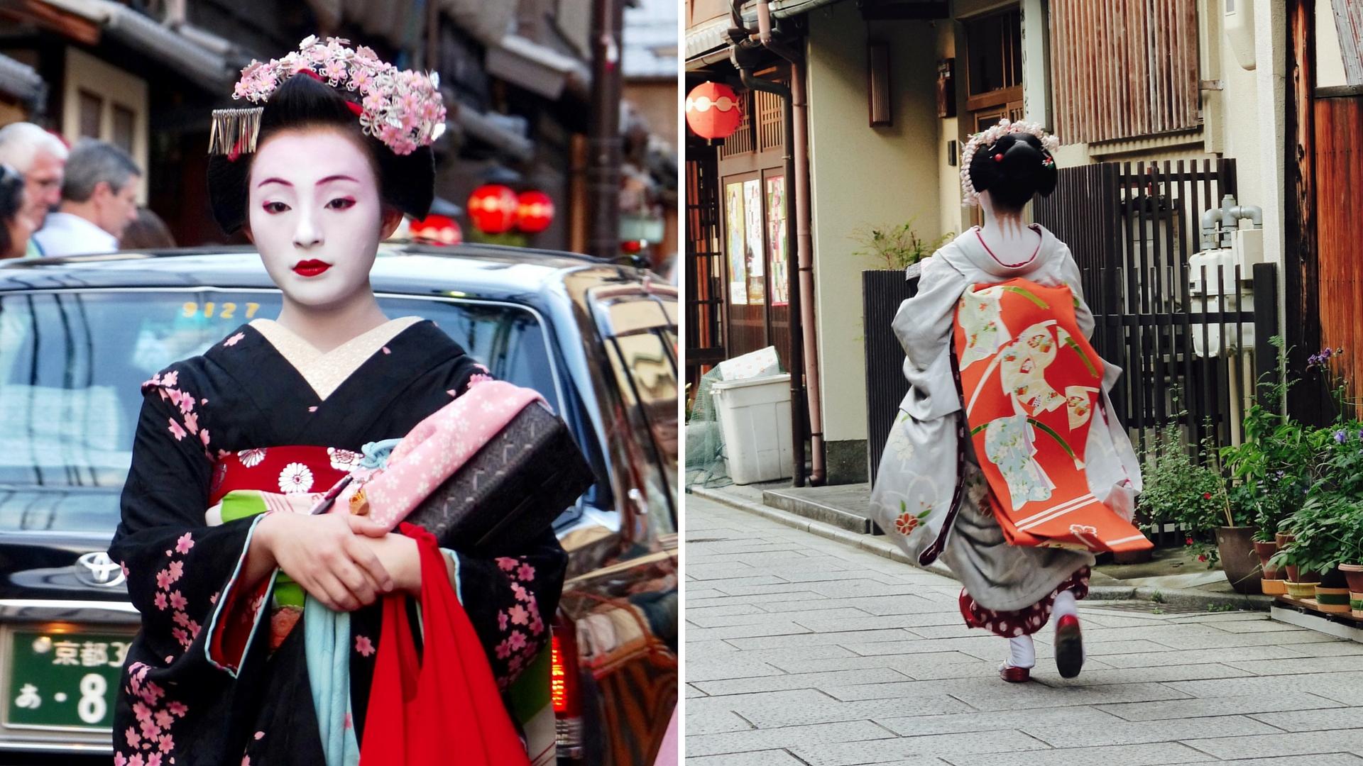Geisha, les mystères de Kyoto
