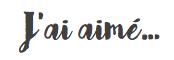 Lu, vu, aimé... blog culture, livre, série