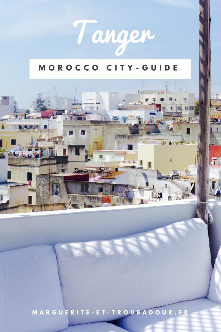 Voyage à Tanger, Maroc - Marguerite & Troubadour