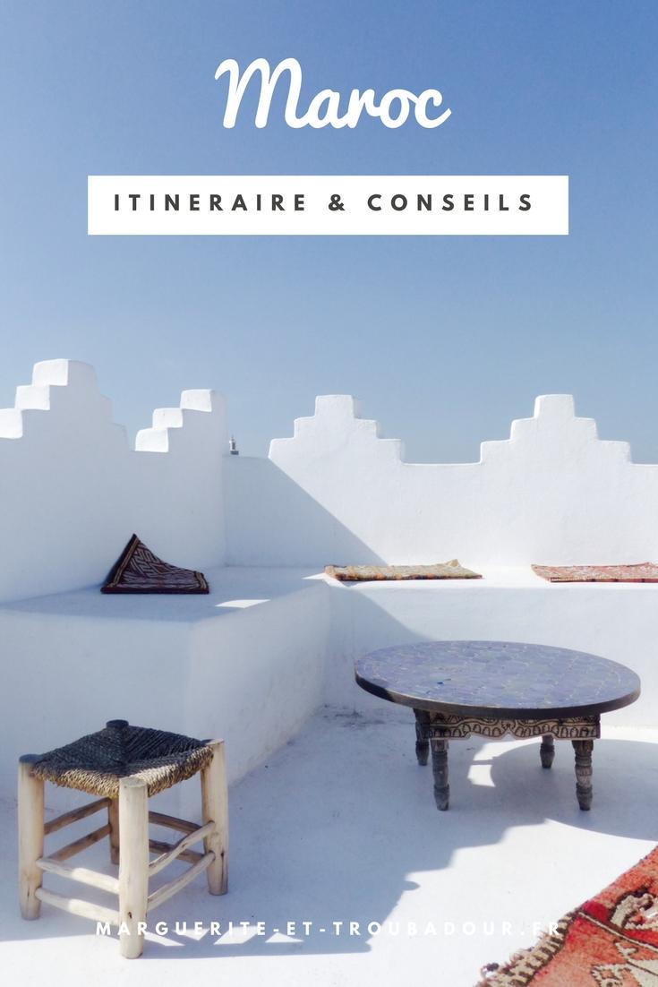 Voyage au Maroc - Marguerite & Troubadour