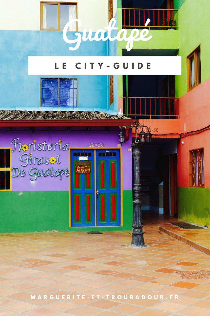 Blog voyage Guatapé colombie