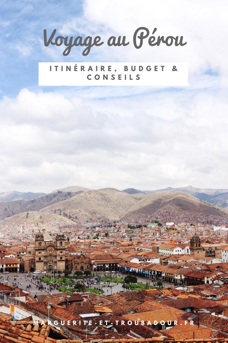 Blog voyage au Pérou