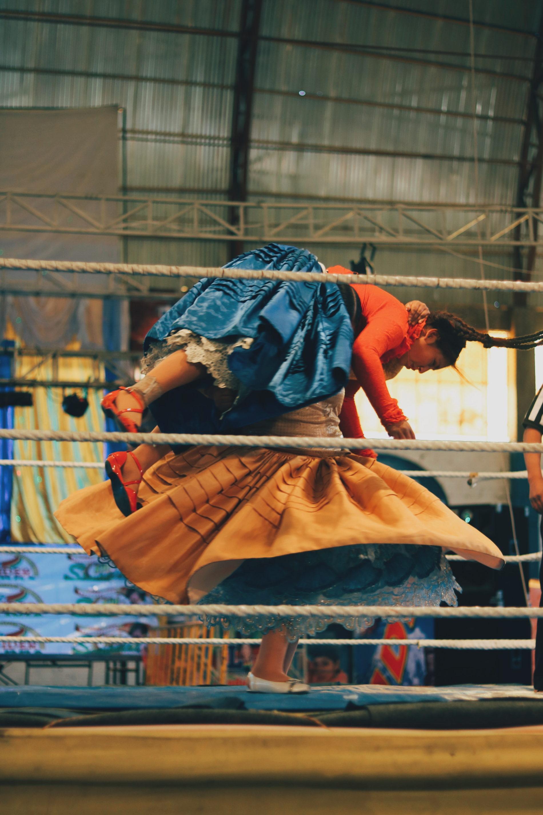 Cholitas wrestling blog voyage