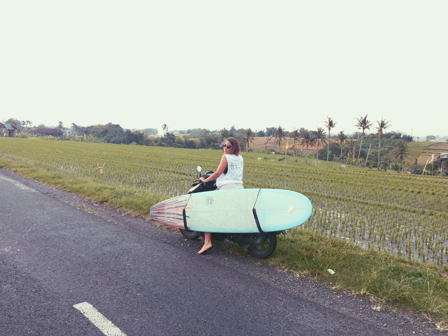Margaux digital nomad Bali indonésie