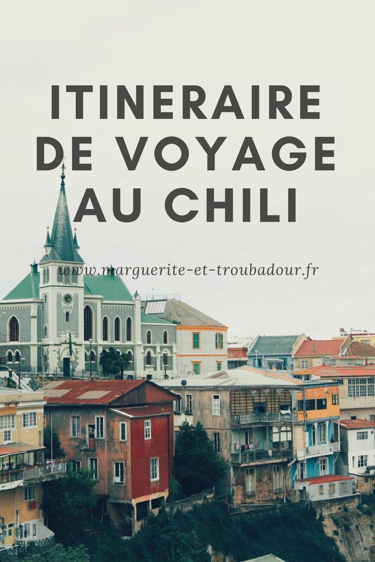 Itinéraire voyage au Chili