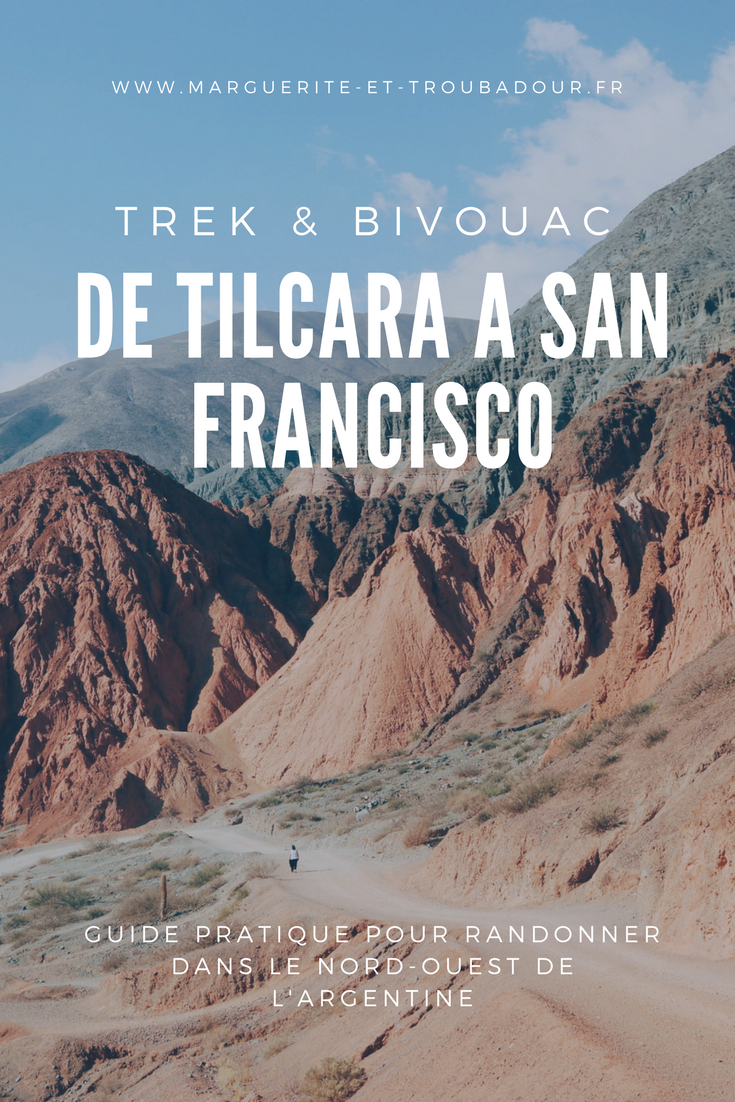Trek Tilcara San Francisco Argentine