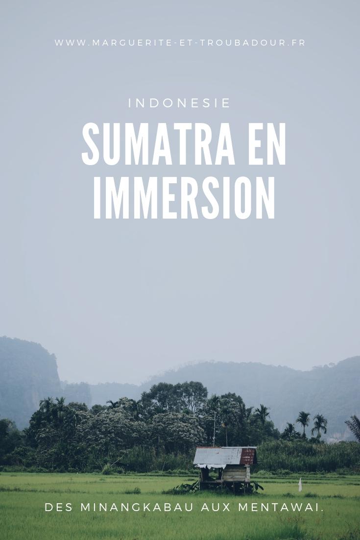 Blog voyage à Sumatra