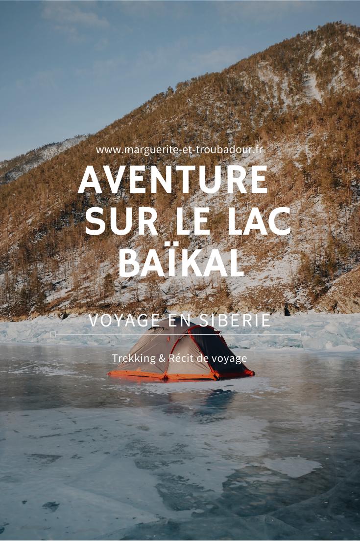 Aventure sur le Baïkal en Sibérie