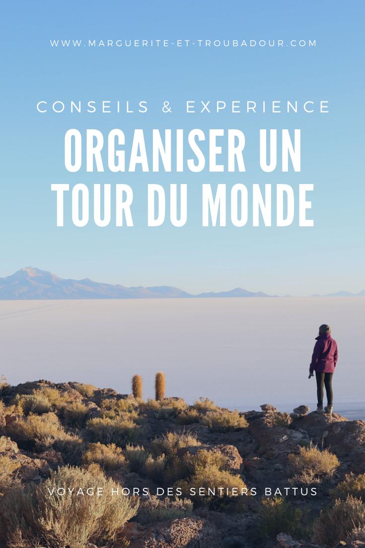 Organiser un voyage au long cours
