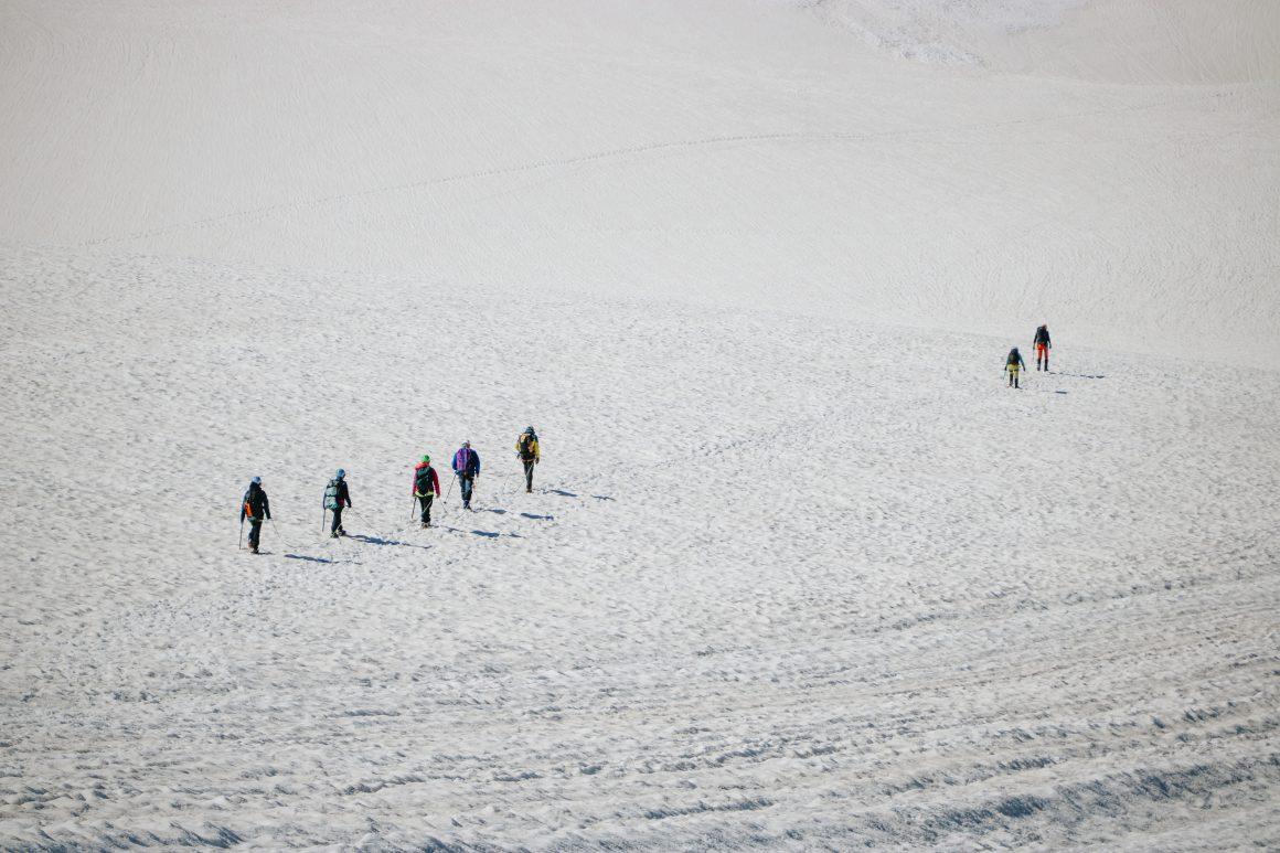 Glacier de la Girose les Ecrins
