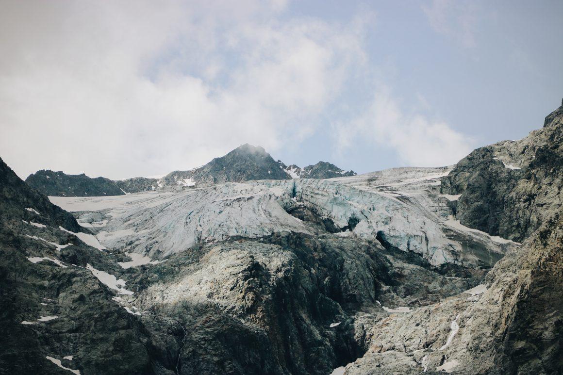 Glacier Alpes Françaises