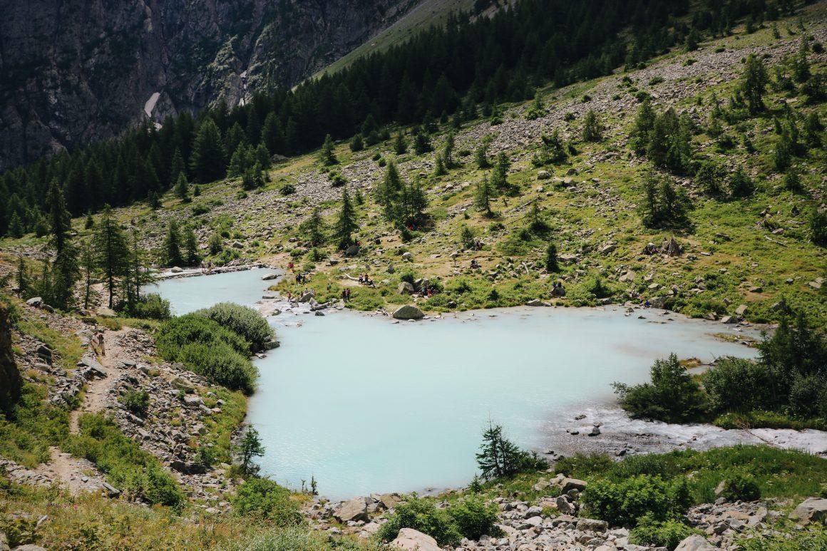 Randonnée dans les Alpes