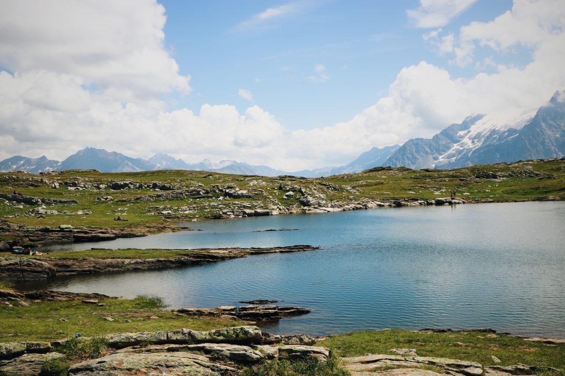 Lac noir Les Ecrins
