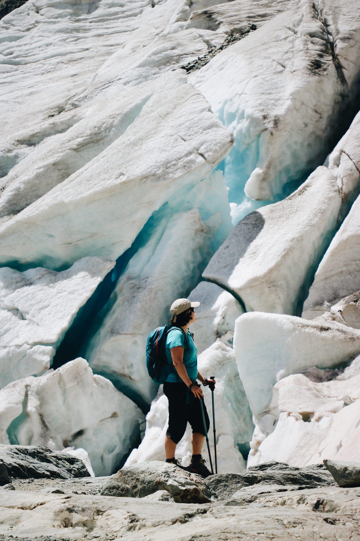 Glacier blanc les écrins