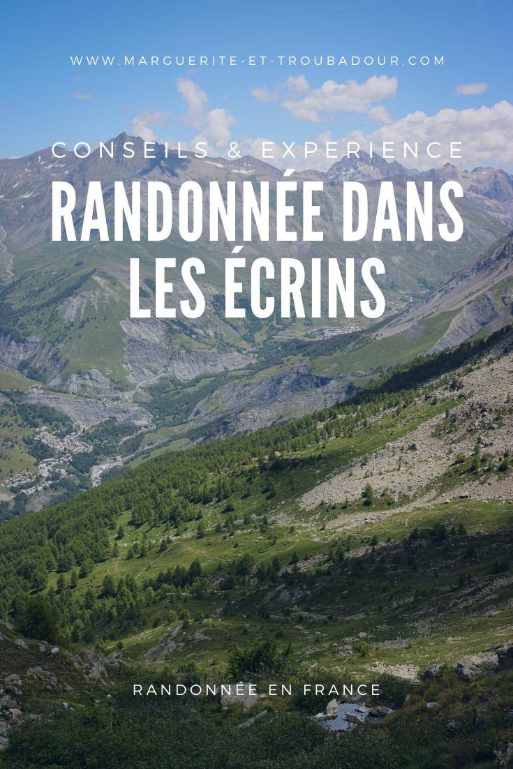 Randonnées et trekking dans les Ecrins